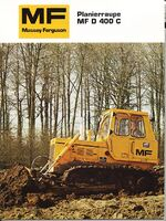 MF D400C crawler brochure