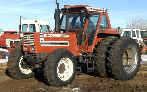 Fiat Hesston Tractors Farm : Hesston turbo dt tractor construction plant