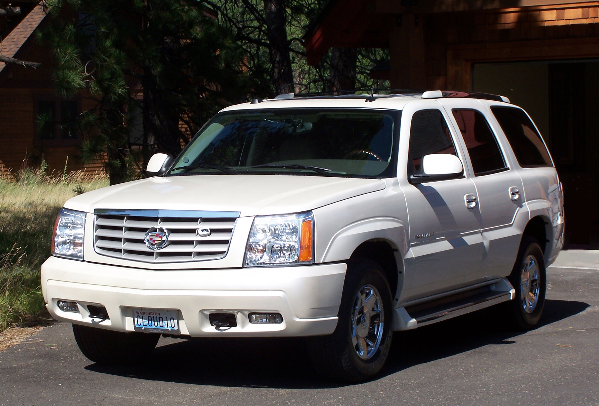 Cadillac escalade tractor construction plant wiki fandom powered by wikia
