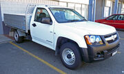 2008-2009 Holden RC Colorado DX 2-door cab chassis 01