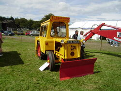 JCB 1 fitted with Petter engine