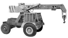 1972 TAYLOR JUMBO 4X4 Crane Diesel