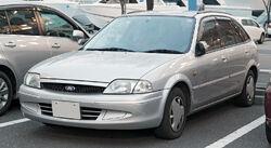 Ford Laser Lidea Wagon 001