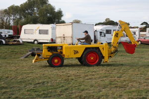 JCB 1 - of Mike Eacock at Gloucester 09 - IMG 4417