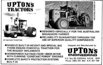 Upton's 4WD