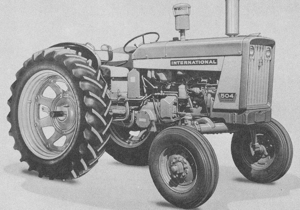International 504 Tractor : International hi clear tractor construction plant