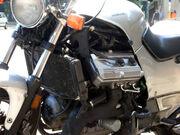 Honda ST1100 engine closeup