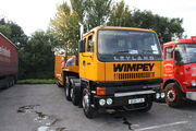 Leyland Roadtrain (ex wimpy) D134YJU and low loader IMG 1987