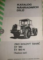Liaz ST180 N 4WD b&w brochure - 1985
