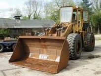 A 1980s BRAY PS7500 4WD Loader