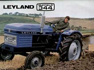 Leyland 344 on tractor engine parts