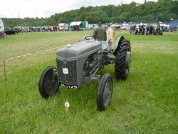 Ford-Ferguson tractor at Belvoir Castle show 2008