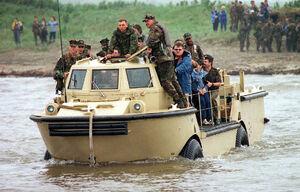 LARC V vehicle