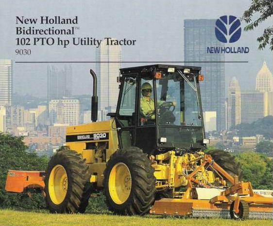 Ford Bi Directional Tractor : New holland versatile bi directional industrial
