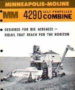 MM 4290 combine b&w brochure