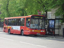 London Bus route 187