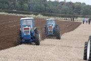 Roadless 105 and 120 ploughing at Roadless 90 - IMG 3464