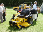 JCB Zero swing mower