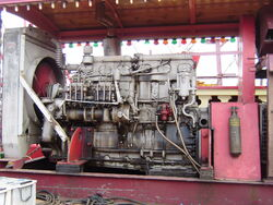 Gardner powered generator