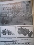 A 1981 CALSA Loader Model Range