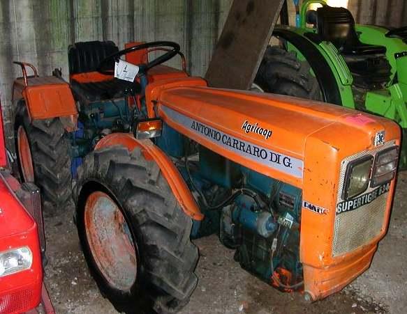 Antonio carraro supertigre 634 tractor construction for Forum trattori carraro