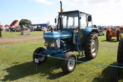 Ford 4610 - A381 JVF at Barleylands 2011 - IMG 6337