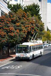 SanFran 14TrSF trolleybus 5592