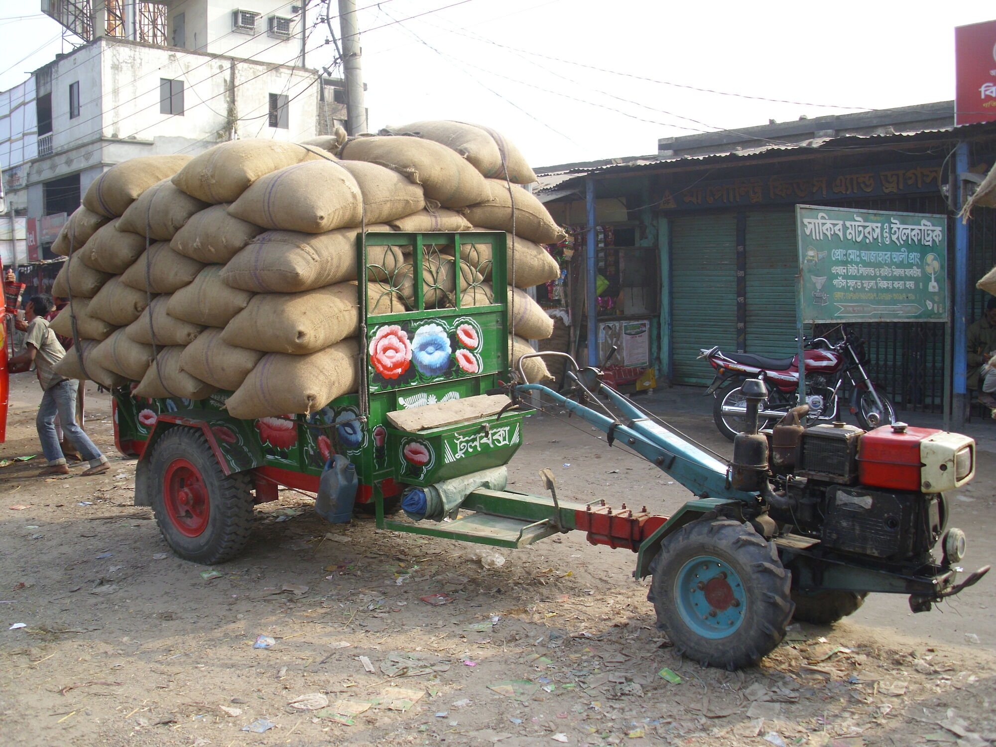 Two Wheel Tractor Attachments : Two wheeled tractors tractor construction plant wiki