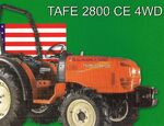 Tafe 2800 CE Hail America Series MFWD