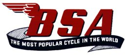 BSA most popular logo