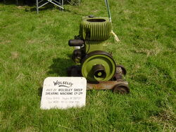 Wolseley WD8 engine 1949