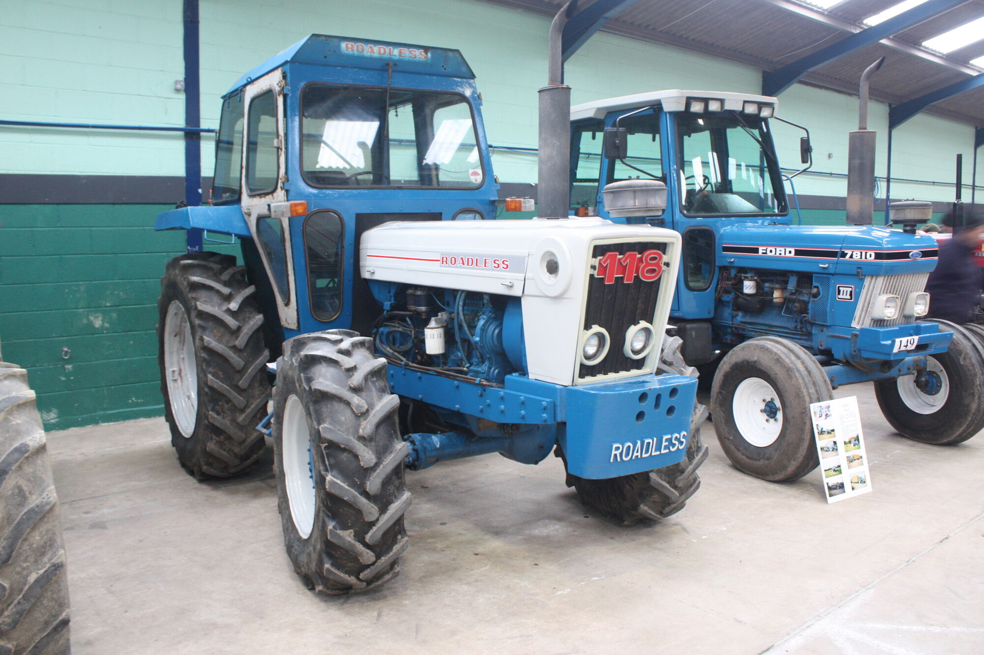 Ford 2000 Tractor Nose : Roadless tractor construction plant wiki fandom