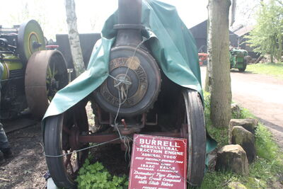 Burrell no. 2706 TE Admiral Togo - TB 2845 at Klondyke Mill 09 - IMG 7166