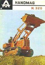 Hanomag K 320 crawler