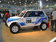 Lada niva T3 rally mims2006