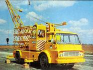1981 WHITLOCK 7TE Crane on Dodge K500 lorry