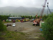 Threlkeld lower yard & Workshop