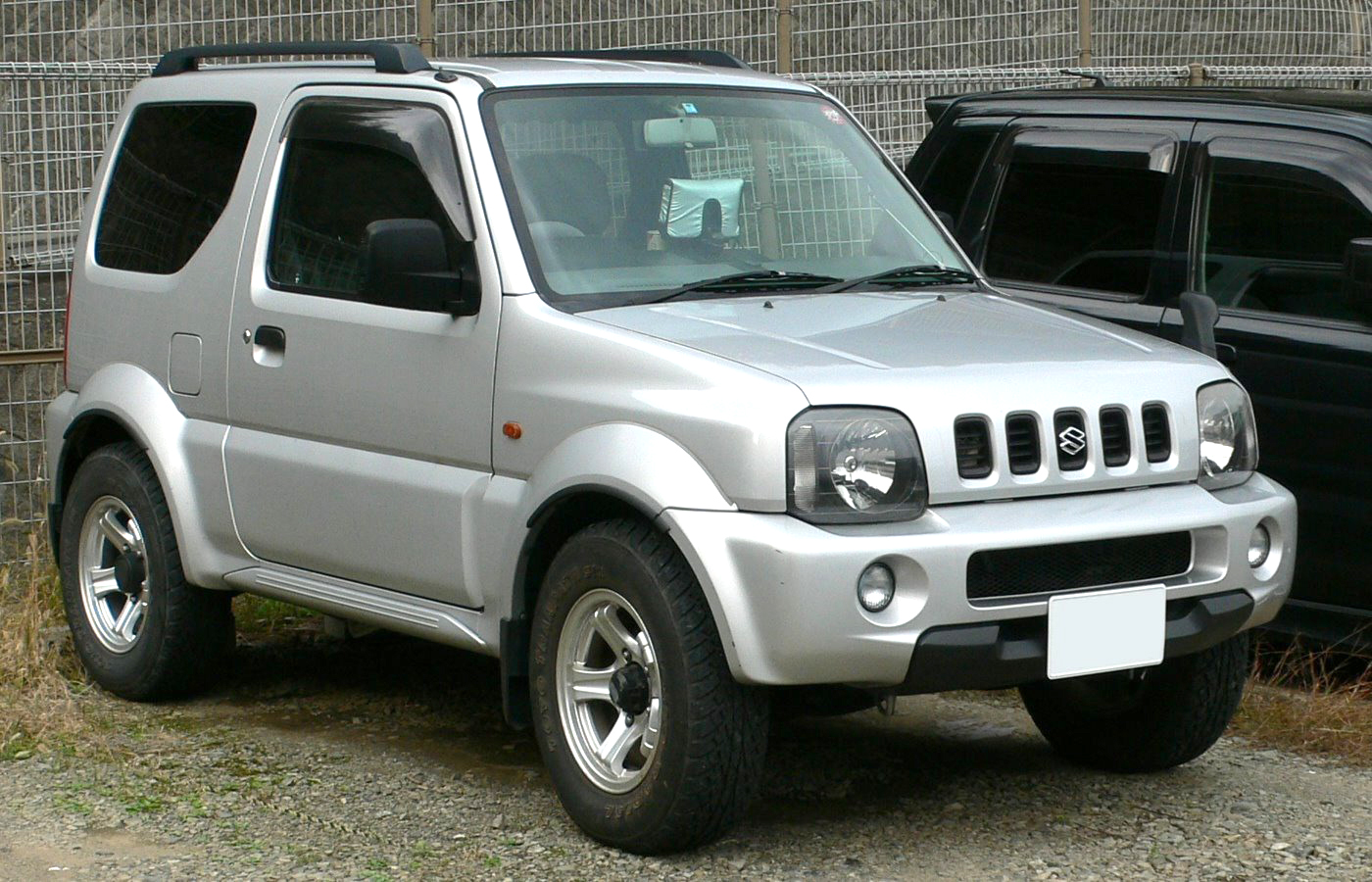 suzuki jimny tractor construction plant wiki fandom powered by wikia. Black Bedroom Furniture Sets. Home Design Ideas
