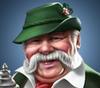 Portrait of contractor Fritz (2015)