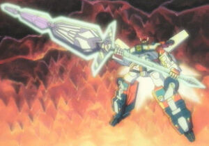 Optimus wields the Matrix Blade RID Cartoon