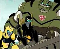 TFA Autobots with Garbage