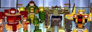4 Generic Autobot