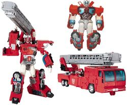 RID Optimus Prime toy