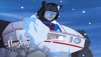 Transformers Generation 1 - Not Snowman, Snowbot!