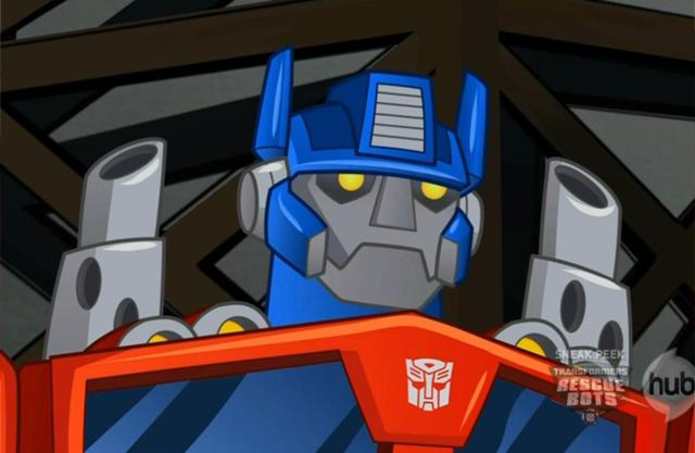 File:Optimus Prime Rescue Bots.jpg