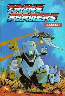 Transformers annual 1992
