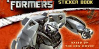 Transformers The Reusable Sticker Book