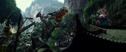 Drift Riding Slug Optimus Riding Grimlock Crosshairs Riding Scorn 3
