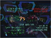 Megatron's screen in Fires of the Past (backwards)
