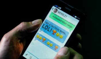 The blast radius text message